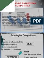 Diseño de Estrategia Competitiva