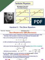 2.Dirac Equation