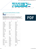 240 Common Spelling Mistakes in English · engVid.pdf