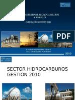 Informe Evo Hidro 2010 MH&E