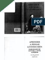 aprender a pensar leyendo bien yolanda argudin libro.pdf