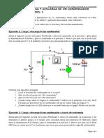 P 8.6 - Carga y Descarga de Un Condensador