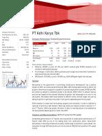 Company Fundamental Research Adhi, November 2012 - Indosurya