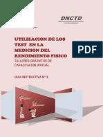 Modulo II - Utilizacion de Los Test en La Medicion Del Rendimiento Fisico