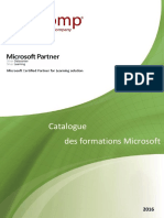 Catalogue Microsoft 2016