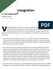 Is Vertical Integration Profitable