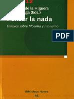 AA. VV. - Pensar La Nada (Ensayos Sobre Filosofía y Nihilismo) [Por Ganz1912]