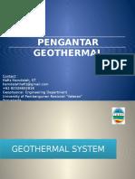Pengantar GEothermal 1