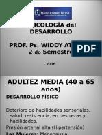 Adultez Media (40 a 65 Años)