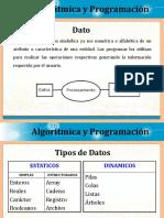 Clase de Datos, Variables, Constantes