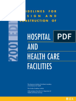 2001_Guidelines for D&C of Hospital & HC Facilities