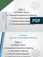 Listening Skills 2