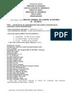 Extrait Pv 01-2013