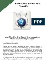 Tema 4. Discusión Actual de La Filosofía de La Educación(1)