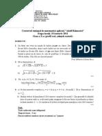 2014_Matematica_Concursul 'Adolf Haimovici'_Locala (Neamt)_Clasa a X-a (Stiintele naturii)_Subiecte+Barem