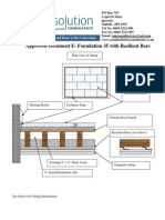 Approved Document e Foundation 35 With Resilient Bar Ceiling