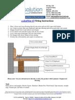 Fitting Instructions Soundmat 15