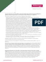 List o Zmianach w Regulacjach i Cennikach