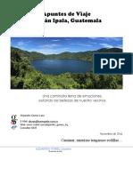 Apuntes de Viaje, Volcan Ipala, Guatemala