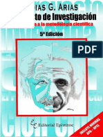 Arias F. 2006. El proyecto de investigación Introducción a la metodología científica.pdf