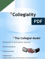 collegiality  1