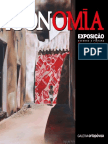 Catálogo da 12.ª Exposição da Galeria d'Arte Ortopóvoa - ÍCONOMIA - Desenho e Pintura de Sara da Mata