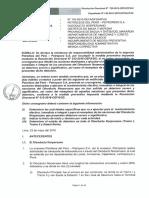 Resolución N° 720-2016-OEFA-DFSAI