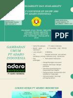 Analisa Belt Conveyor Ep 250 Bw 1000 PT Adaro Indonesia