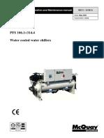 McQuay PFS C Installation Manual Eng