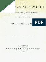 Como en Santiago ( Libro )