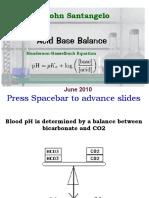 Acid Base Balance June 2010