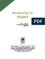 En IntroductiontoHadeeth===