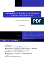 Trigonometria Angulos y Sus Medidas Marzo 3 2012