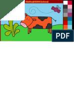 Dibujos Para Colorear Online_ Pintar Animales en El Campo