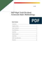HighYield DivAris Methodology-2006