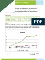Amazon EC2 Performance Report June