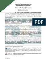 Boletín Informativo OAI