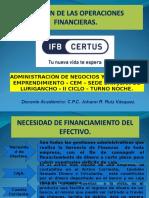 Gestion de Las Operaciones Financieras