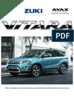 Ficha Técnica Suzuki Vitara 2015 Uruguay
