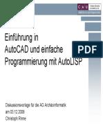 Autocad Lisp