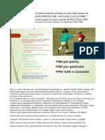 Principi e Linee Metodologiche Generali Del Processo Di Apprendimento