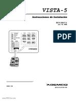Ademco Vista 5 Installation Manual