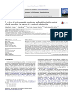 A Review of Environmental Monitoring and Auditing in the Context