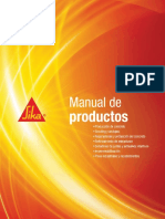 Manual de Productos Sika 2011