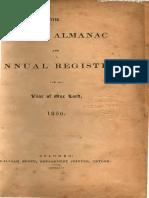 Ceylon-Almanac-And-Annual-register 1856 -William Skeen, Government Printer, Colombo Ceylon