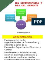 Administración y Habilidades Del Gerente
