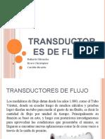 Transductores de Flujo