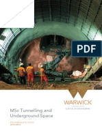 Uof Tunnelling Underground Space a5 4pp 2015-16