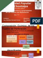 1.1.Composicion Quimica y Propiedades de Los Fluidos de Perforacion