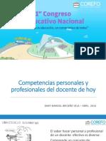 Habilidades Personales y Profesionales Del Docente de Hoy
